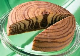 zebrakuchen mit guss