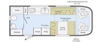 C Floor Plans by Trend Floorplans Winnebago Rvs
