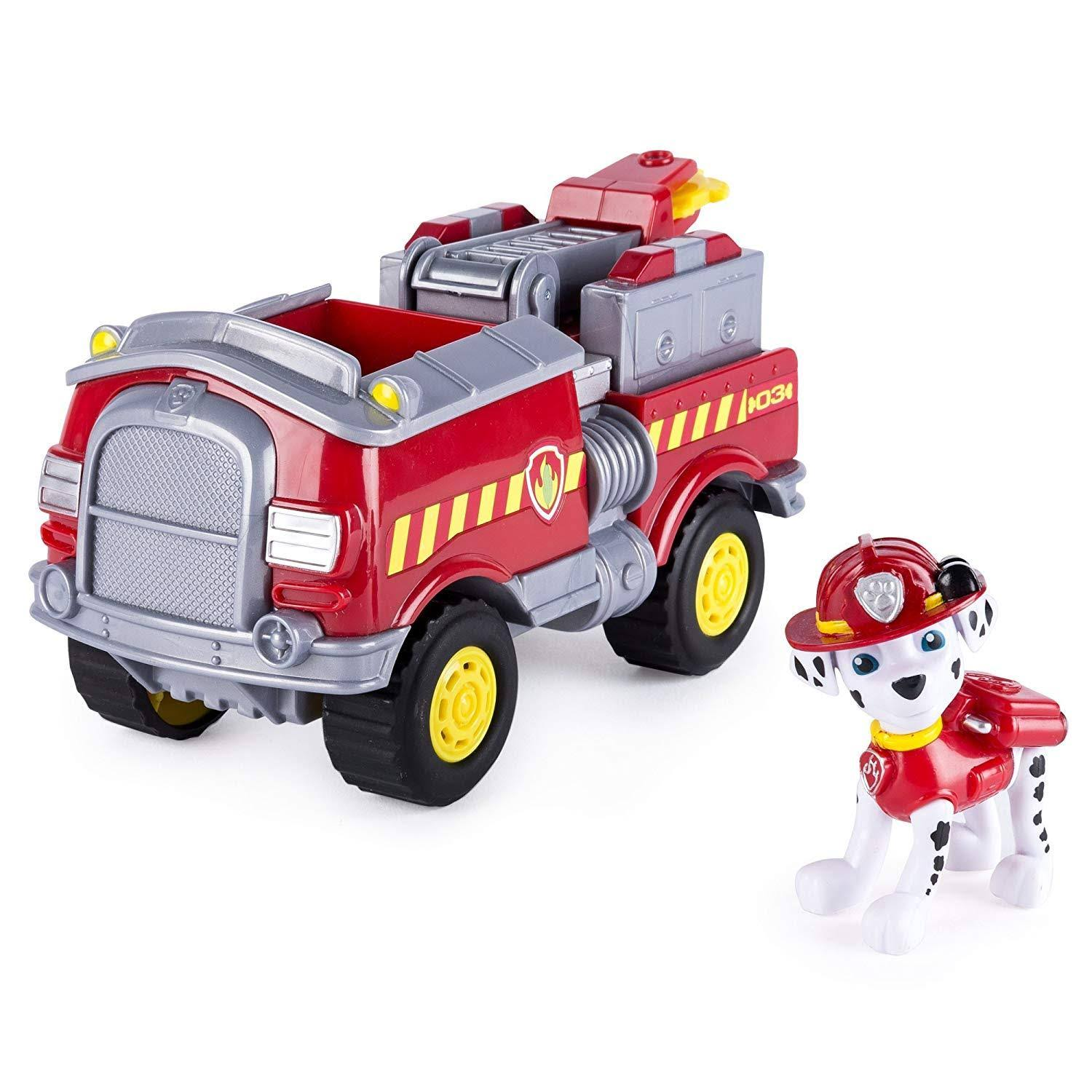 Paw Patrol Marshall's Forest Fire Vehicle Model