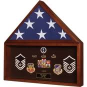 SpartaCraft Flag And Shadowbox Display Case