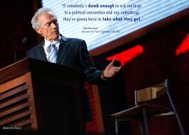 clint eastwood s reaction clint eastwood s empty chair speech