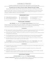 Supervisor Resume Examples 2012 Construction Foreman Sample Customer Service Template