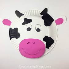 Paper Plate Craft Animal Easy Kids Crafts Cow