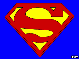 Printable Coloring Pages Superman Logo 66633