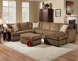 "American Furniture 6800 ""Cornell Cocoa"" Sectional – Crazy Joe s"
