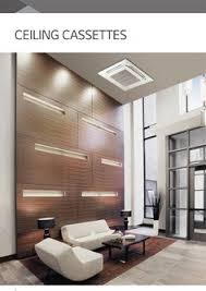 Ceiling Cassette Mini Split by The Ideal Air Conditioner For Installation Inside Narrow False
