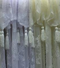 lace curtains with attached valance teawing co