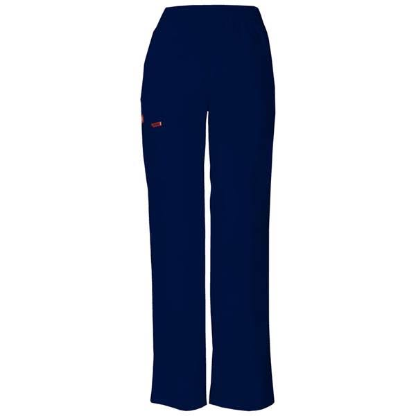 Dickies Womens Petite EDS Signature Scrubs Missy Fit Pull-on Cargo Pant - Navy