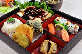 Bento Box The Food In Question Is Varied And Well Balanced Everything Properly Sliced So It Can Be Easily Eaten With Your Fingers Or Chopsticks