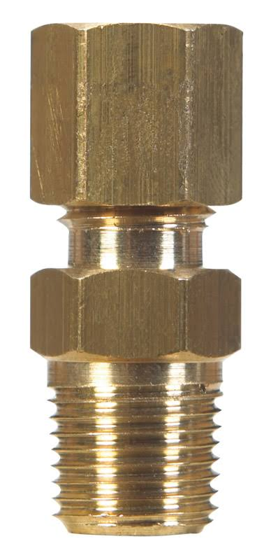 Jmf Compression Connector - Brass
