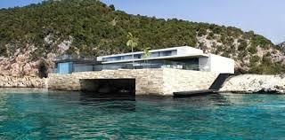 exemple maison moderne bord de mer