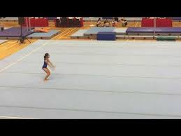 Usag Level 3 Floor Routine Tutorial by National Level 3 Floor Exercise Prime Gymnastics Youtube