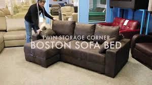 Friheten Corner Sofa Bed With Storage by Boston Corner Sofa Bed Youtube
