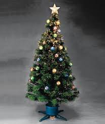 6ft Pre Lit Christmas Trees Black by 6ft Fibre Optic Christmas Tree With Stars Christmas Lights