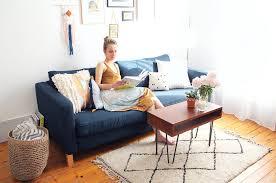 housse ikea canapé comment customiser canapé ikéa partie 1 changer la couleur