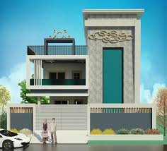 100 House Design By Architect Exterior Architectural Design House Qaisar In 2019