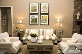 beige walls of elegant living room interior design with beige