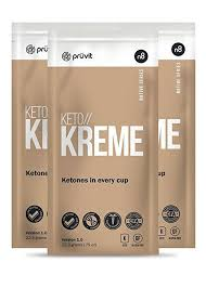 Coolimage KETO KREME By Pruvit Ketone Supplement In A Coffee Creamer