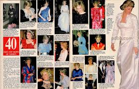 40 DAYS AND NIGHTS OF FASHION OUR PRINCESS DIANA NEWS ARTICLE FOR 23 JANUARY 2016