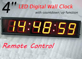 Large Display Digital Wall Clock Led Image Of Best Cool Clocks