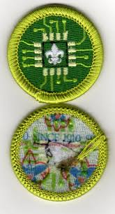 DIGITAL TECHNOLOGY MERIT Badge, Type L,
