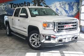 100 Sierra Trucks For Sale PreOwned 2014 GMC 1500 SLT Crew Cab Pickup In Cathedral City
