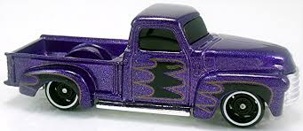 100 52 Chevy Truck P Hot Wheels Newsletter