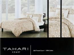 Tahari Home Bedding amazon com victorian floral damask duvet quilt cover by tahari