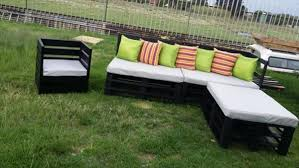 Lawn Furniture Made From Pallets