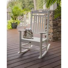 100 Marine Folding Deck Chairs Trex Outdoor Furniture Yacht Club Plastic Rocking Chair With Slat At
