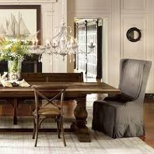 High Back Chairs Sit Perfectly At The Head Of Table Arhaus