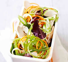 Japanese Pumpkin Salad Recipe by Japanese Salad With Ginger Soy Dressing Recipe Bbc Good Food