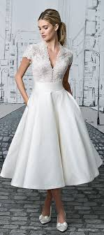 Tea length wedding dress Justin Alexander 2017 …