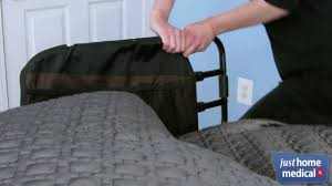 Stander Bed Rail by Just Home Medical Stander Ez Adjustable Bed Rail With Padded