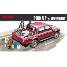 OHS Meng VS002 1/35 PICK UP W/EQUIPMENT Plastic Military Truck Model ... Scale Model Ford Pick Up Truck Lifted Youtube Amt Model Semi Kits Best Resource Mack Dm 600cat Dh8 125 Amtertl 2 Kit Project Ideas Revell 132 Mack Fire Truck Pumper Plastic Snap Model Kit Autocar Maquetas Vehiculos Pinterest Models Car The Modelling News Meng Are At Nemburg Toy Fair To Pick And Trailer Monogram Tom Daniels Garbage Plastic Kit 124 Scale 1966 Chevy Fleetside Pickup Revell 857225 New Custom Truck Archives Kiwimill Maker Blog Mpc 852 Datsun Monster Amazoncom Kenworth W900 Toys Games