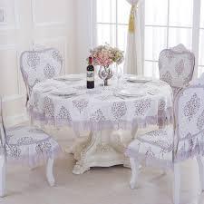 de luxe jacquard nappe ronde pour le mariage décorations de noël