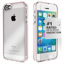 iPhone SE 5s 5 Rose Gold Clear Protective Kit