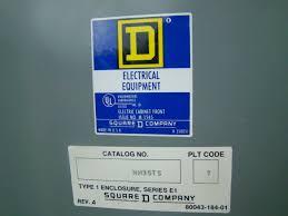Stanley Vidmar Cabinets Weight by Square D 277 480v 125 Amp Nehb Panelboard Nehb 30435 1 Joseph
