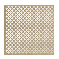 Decorative Sheet Metal Banding by M D Building Products 36 In X 36 In Plain Aluminum Sheet In