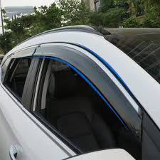 For Hyundai Tucson 2016 2017 Car Accessories Window Visor Sun Rain