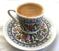 To Finish The Evening A Cup Of Strong Turkish Coffee Properly Foamy On Top