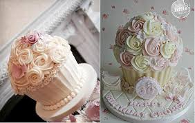 Cupcake Cakes By The Buttercream Bakery Hinckley Left And Happy Little Baker Right