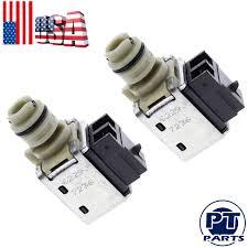 100 2011 Malibu Parts Details About 2 OEM Transmission Shift Solenoid Set For 4T40E 4T45 HHR Cobalt Cavalier