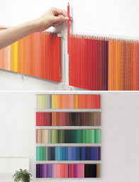 Colored Pencil Holder Wall Art
