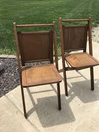 TWO VINTAGE WOODEN SLAT-LOOK FOLDING CHAIRS: ACME CHAIR COMPANY (MICHIGAN) Tribute 20th Decor Vintage Wood Folding Chairs Mama Got New Chairs 1940s Stakmore Chair Flickr Dutch White Wooden Folding Chair 1940 Mid Mod Design Executives In Rows Of Folding Chairs At Meeting With Chairman 4 Russel Wright Schwader Detriot Pale Green Metal 2 Art Deco Btc Hostess Brewer Titchener Set Vtg 1940s Wood Metal Us American Seating Co Wooden In North Shields Tyne And Wear Gumtree Government Issue Military Childrens From Herlag Pin By Sarah Kz On Interior Office