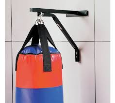 Heavy Bag Ceiling Mount Track by Buy Pro Fitness Punch Bag Wall Bracket At Argos Co Uk Your