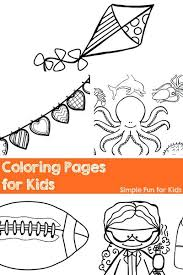 Printable Coloring Pages For Kids My Love Them And There Are Lots Of Easy