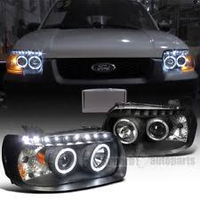 2005 2007 ford escape dual halo projector smd led headlights ls