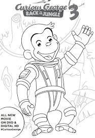 Curious George 3 Printable Activities Coloring Pages