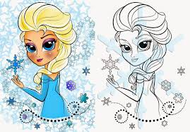 Frozen Coloring Pages Elsa Ice Castle For Kids